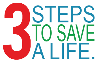 3 steps to save a life opioid